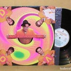 Discos de vinilo: DEVO SPAIN MAXI 45RPM DE 1990 POST POST-MODERN MAN ELECTONIC SYNTH POP HISPAVOX LEER DESCRIPCIÓN. Lote 201225171