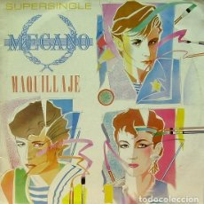 Discos de vinilo: MECANO - MAQUILLAJE, NAPOLEON, SUPER-RATON - MAXI-SINGLE SPAIN 1982. Lote 204828876