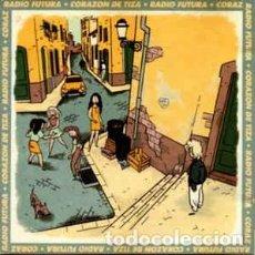 Discos de vinilo: RADIO FUTURA, CORAZÓN DE TIZA - MAXI-SINGLE ARIOLA SPAIN 1990. Lote 204830330