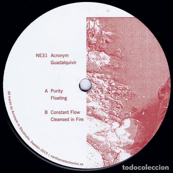 ACRONYM - GUADALQUIVIR - 12'' [NORTHERN ELECTRONICS, 2016] (Música - Discos de Vinilo - EPs - Techno, Trance y House)