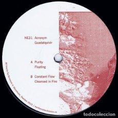Discos de vinilo: ACRONYM - GUADALQUIVIR - 12'' [NORTHERN ELECTRONICS, 2016]. Lote 204840110