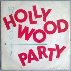 Discos de vinilo: LE HOLLYWOOD CLUB ORCHESTRA PARTY. LE JOUR OU LA PLUIE VIENDRA/ PORTO FINO/ HOLLYWOOD ROCK/CARROUSEL. Lote 204840157