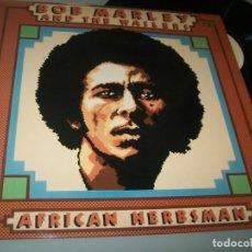 Discos de vinilo: BOB MARLEY - AFRICAN HERBSMAN .. LP DE 1973 REEDICION ESPAÑOLA DE 1980 - COMO NUEVO. Lote 204841290