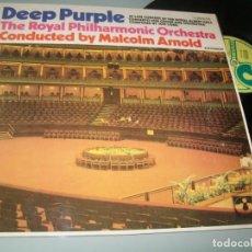 Discos de vinilo: DEEP PURPLE - THE ROYAL PHILARMONIC ORCHESTRA - LIVE CONCERT ..LP HARVEST - SPAIN 1971. Lote 204845371