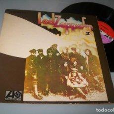 Discos de vinilo: LED ZEPPELIN II ...LP 1ª EDICION DE 1969 - HATS 421 - 43 . ESPAÑOL - ATLANTIC - PORTADA SIMPLE. Lote 204845653