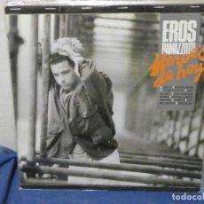 Discos de vinilo: LP EROS RAMAZZOTTI HEROES DE HOY NO TIENE HOJA LEVES ESTADO DECENTE DE USO. Lote 204850318