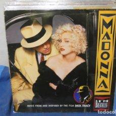 Discos de vinilo: LP MADONNA MUSIC FROM DICK TRACY INNEGABLE Y EVIDENTE TROTE ALGO SE PUEDE OIR. Lote 204850552