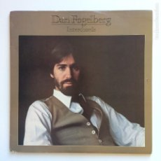Discos de vinilo: DAN FOGELBERG – INTERCHORDS ALBUM PROMO 2LPS USA 1982 FULL MOON. Lote 204973496