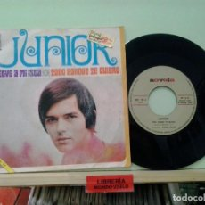 Discos de vinilo: LMV - JUNIOR. VUELVE A MI ISLA / TODO PORQUE TE QUIERO. NOVOLA 1969, REF. NOX-104. SINGLE. Lote 204973670