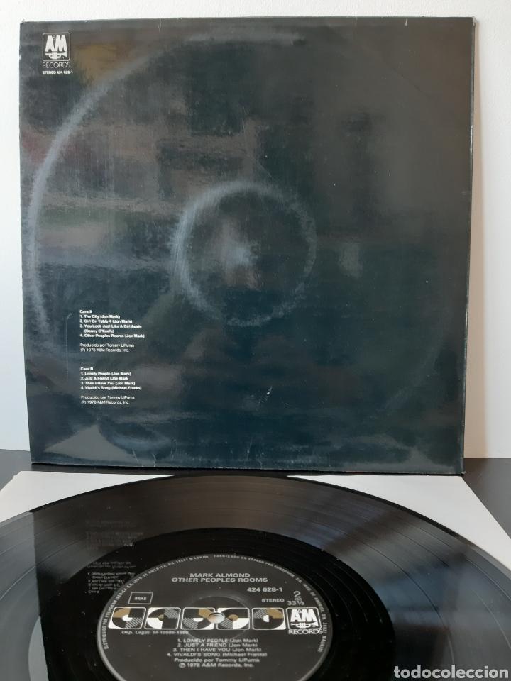 Discos de vinilo: MARK ALMOND. OTHER PEOPLE ROOMS. AM. 1990. SPAIN. - Foto 2 - 204976246