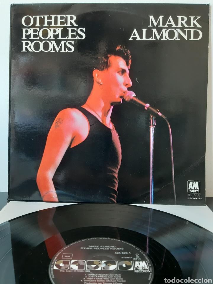 MARK ALMOND. OTHER PEOPLE ROOMS. AM. 1990. SPAIN. (Música - Discos - LP Vinilo - Pop - Rock - New Wave Extranjero de los 80)
