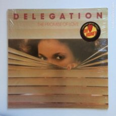 Discos de vinilo: DELEGATION – THE PROMISE OF LOVE USA 1977 SHADYBROOK RECORDS. Lote 204976445