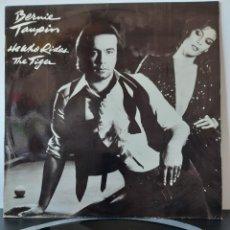 Discos de vinilo: BERNIE TAUPIN. HE WHO RIDES THE TIGER. ASYLUM RECORDS. 1980.. Lote 204977613