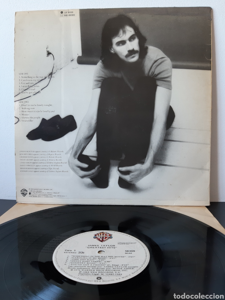 Discos de vinilo: JAMES TAYLOR. GREATEST HITS. WB. Wea. 1984. Spain - Foto 2 - 204980515