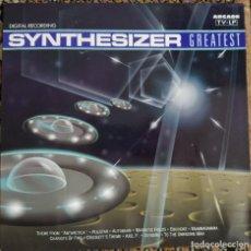 Discos de vinilo: SYNTHESIZER GREATEST (LP, ALBUM) (ARCADE) 02 3810 21. Lote 204984171