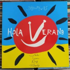 Discos de vinilo: HOLA VERANO! (DISCO MIX 85) (CBS – S 26614) (VINYL, LP,). Lote 204986998