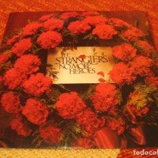 Discos de vinilo: STRANGLERS LP IV NO MORE HEROES UA ORIGINAL HOLANDA 1977 + FUNDA. Lote 205000891