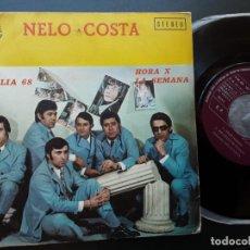 Discos de vinilo: NELO COSTA, STOP, BRASILIA 1968, HORA X, LA SEMANA. Lote 205003405