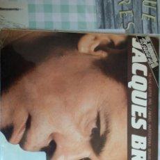 Discos de vinilo: JAQUES BREL. Lote 205003555