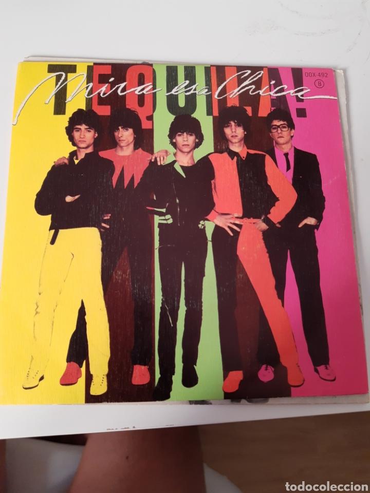EP. SINGLE TEQUILA MIRA ESA CHICA. DIFÍCIL DE CONSEGUIR (Música - Discos de Vinilo - EPs - Grupos Españoles de los 70 y 80)