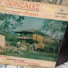 Discos de vinilo: EP ( VINILO) DE JOSE GONZALEZ PRESI AÑOS 60. Lote 205005878