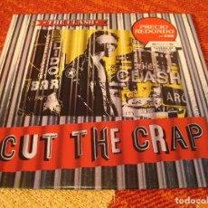 Discos de vinilo: THE CLASH LP CUT THE CRAP 1985 CBS ESPAÑA 1989. Lote 205009982