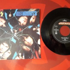 Discos de vinilo: KISS SINGLE VINILO CRAZY CRAZY NIGHTS / NO NO NO HOLANDA 1987 MERCURY. Lote 205018440
