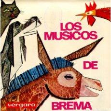 Discos de vinilo: VVAA - LOS MÚSICOS DE BREMA - EP SPAIN 1965 - VERGARA 237 HC. Lote 205020840