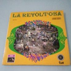 Discos de vinilo: LA REVOLTOSA. CHAPÍ. ODEON. LP. 1968. INCLUYE LIBRO.. Lote 205022916