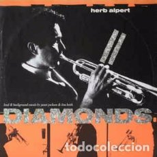 "Discos de vinilo: HERB ALPERT - DIAMONDS (12"", SINGLE) LABEL:A&M RECORDS, A&M RECORDS CAT#: 392 203-1, 392203-1. Lote 205024266"