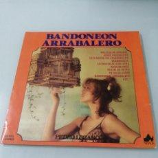 Discos de vinilo: BANDONEON ARRABALERO. PEDRO LOZANO. DIAL. 1977. LP.. Lote 205034597