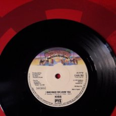 Discos de vinilo: KISS SINGLE VINILO I WAS MADE FOR LOVIN' YOU/ HARD TIMES. INGLATERRA 1979. CASABLANCA PYE. Lote 205038308