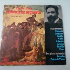 Discos de vinilo: ALBENIZ EN ORQUESTA. ALBENIZ-ESPLÁ. HIXPAVOX. LP.. Lote 205039178