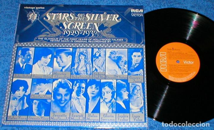STARS OF THE SILVER SCREEN 1929-1930 UK LP GLORIA SWANSON LUPE VELEZ BEBE DANIELS THE DUNCAN SISTERS (Música - Discos - LP Vinilo - Bandas Sonoras y Música de Actores )