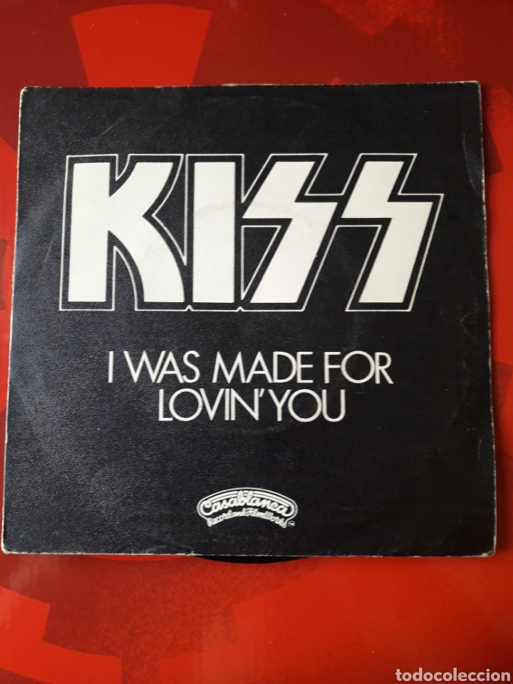 KISS SINGLE VINILO I WAS MADE FOR LOVIN YOU / HARD TIMES. ESPAÑA 1979. CASABLANCA (Música - Discos - Singles Vinilo - Heavy - Metal)