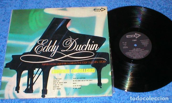 CARMEN CAVALLARO SPAIN LP ORIGINAL 1969 THE EDDY DUCHIN STORY BANDA SONORA ORIGINAL BSO BUEN ESTADO (Música - Discos - LP Vinilo - Bandas Sonoras y Música de Actores )