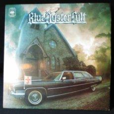 Discos de vinilo: LP DOBLE BLUE OYSTER CULT DE PIE O DE RODILLAS. Lote 205052013