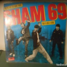 Discos de vinilo: SHAM 69 - YOU'RE A BETTER MAN. Lote 205059367