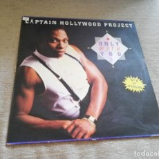 Discos de vinilo: CAPTAIN HOLLYWOOD PROJECT-ONLY WITH YOU. MAXI ESPAÑA. Lote 205060172