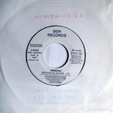 Discos de vinilo: AMNESIA - IBIZA. Lote 205069566
