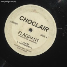 Discos de vinilo: CHOCLAIR ‎– FLAGRANT KNEE DEEP RECORDS CANADA 009 PROMO. Lote 205076023