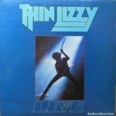 Discos de vinilo: THIN LIZZY LIVE LIFE VERTIGO 1983 DOBLE LP. Lote 235406970