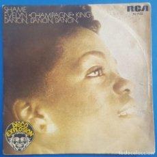 Discos de vinilo: SINGLE / EVELYN CHAMPAGNE KING / SHAME - DANCIN, DANCIN, DANCIN / RCA 1978 DISCO EXPLOSION. Lote 205081357