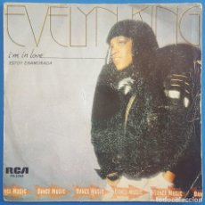 Discos de vinilo: SINGLE / EVELYN CHAMPAGNE KING / I'M IN LOVE - THE OTHER SIDE OF LOVE / RCA 1981. Lote 205081413