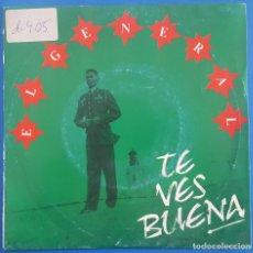 Discos de vinilo: SINGLE / EL GENERAL / TE VES BUENA - SON BOW / ARIOLA 1991. Lote 205081773
