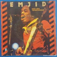 Discos de vinilo: SINGLE / EMJID / GIVE YOURSELF A CHANCE - DOIN' IT / CBS 1980. Lote 205084352