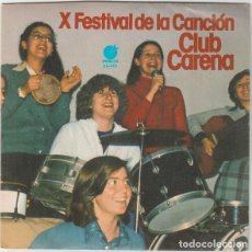 Discos de vinilo: X FESTIVAL DE LA CANCION CLUB CARENA -NO ME DEJES JAMA - SINGLE IMPACTO 1977. Lote 205085788