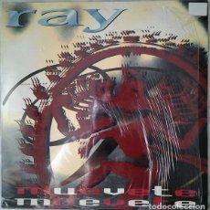 Discos de vinilo: RAY, MUEVETE, MAXI-SINGLE REMIXES SPAIN 1994. Lote 205090856