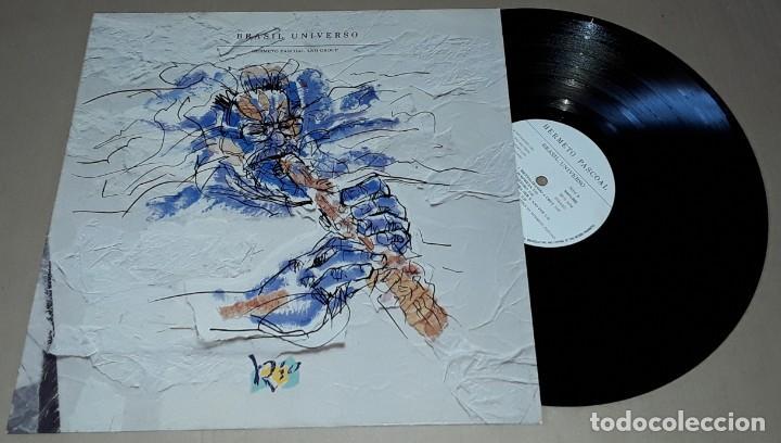 LP - HERMETO PASCOAL - BRASIL UNIVERSO - MADE IN UK - HERMETO PASCOAL AND GROUP (Música - Discos - LP Vinilo - Jazz, Jazz-Rock, Blues y R&B)