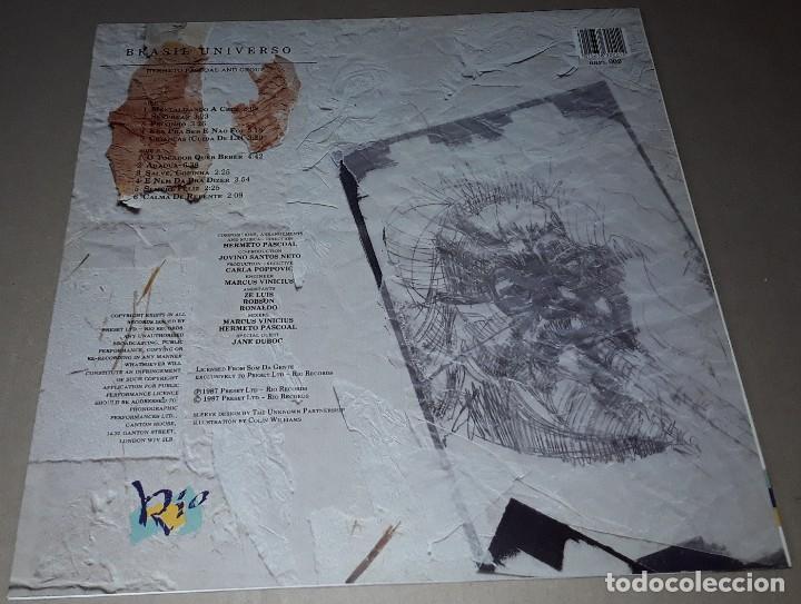 Discos de vinilo: LP - HERMETO PASCOAL - BRASIL UNIVERSO - MADE IN UK - HERMETO PASCOAL AND GROUP - Foto 2 - 205097167